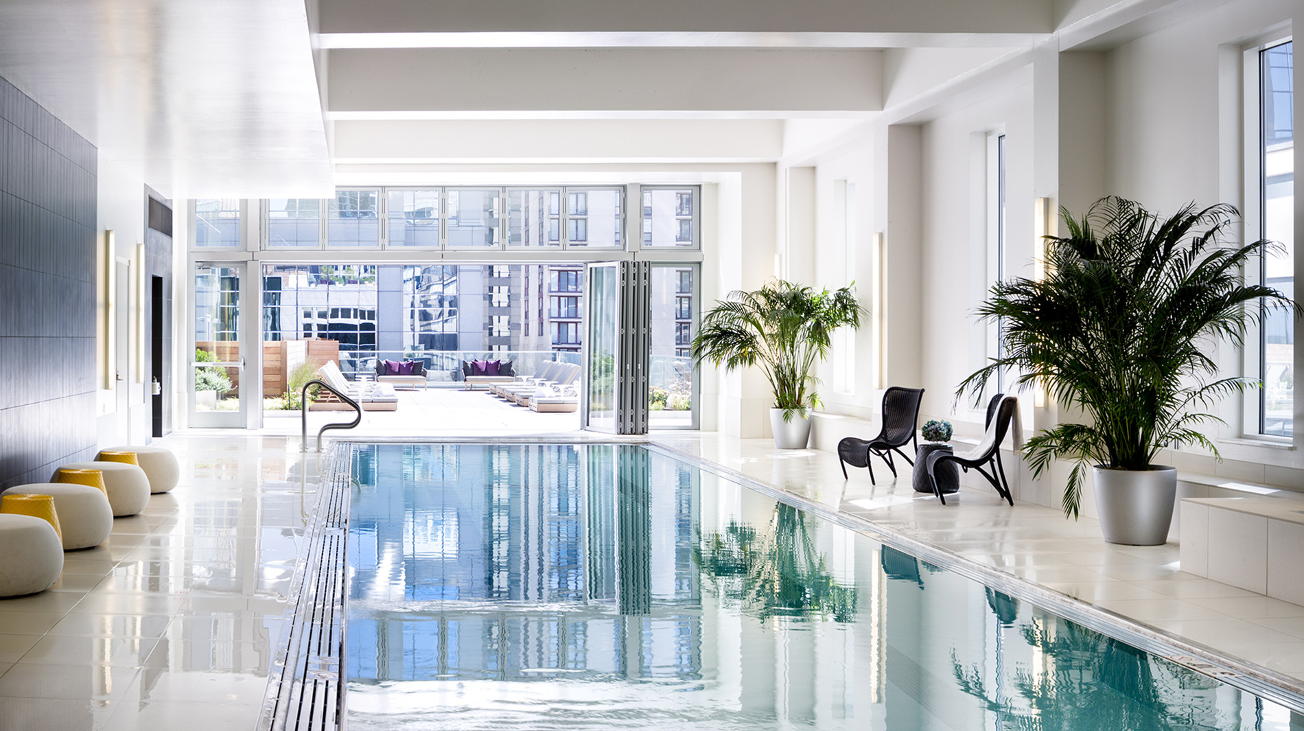 OneEleven-chicago-in-door-pool-corporate-housing