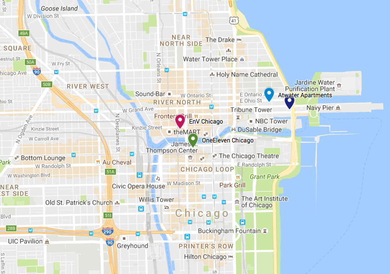 Map Ryan Corporate Housing Properties