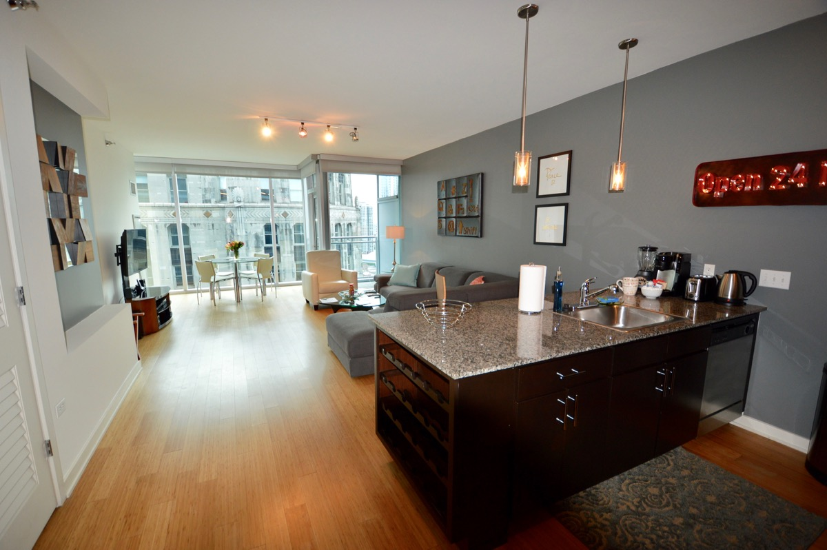 Short Term Rentals Chicago >> Env Chicago Furnished Temporary Apartment 23 1